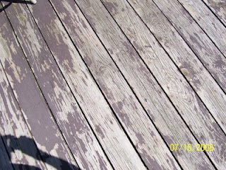 Deck Stain Problems
