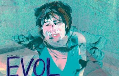 Reinterpretación de la portada del disco de Sonic Youth 'Evol'