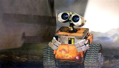 Juego con Wall-e, batallón de limpieza
