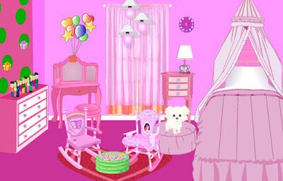 Juego para decorar habitaciones de princesas