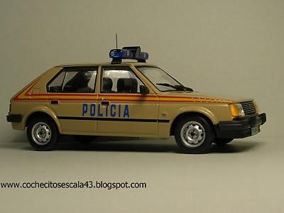 Cochecitos A Escala 1 43 Talbot Horizon Policia Nacional