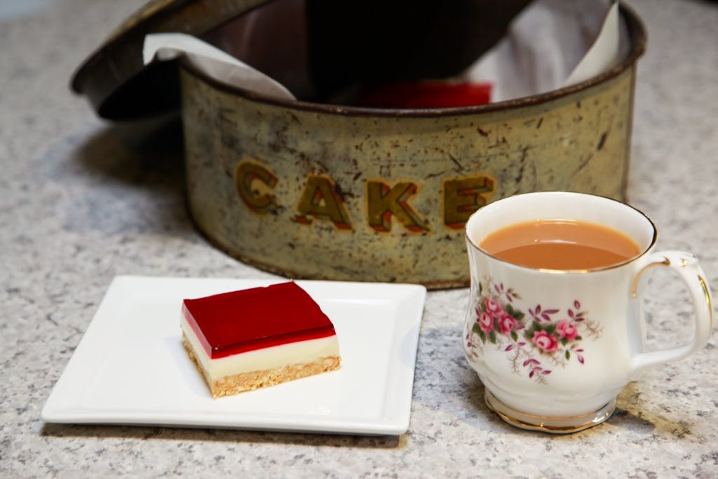how to make jelly slice without condensed milk