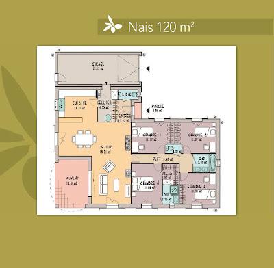 Les maisons de manon nais 90 120 m for Les maisons de manon prix