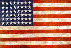 <i>Flag</i> Jasper Johns 1954-55