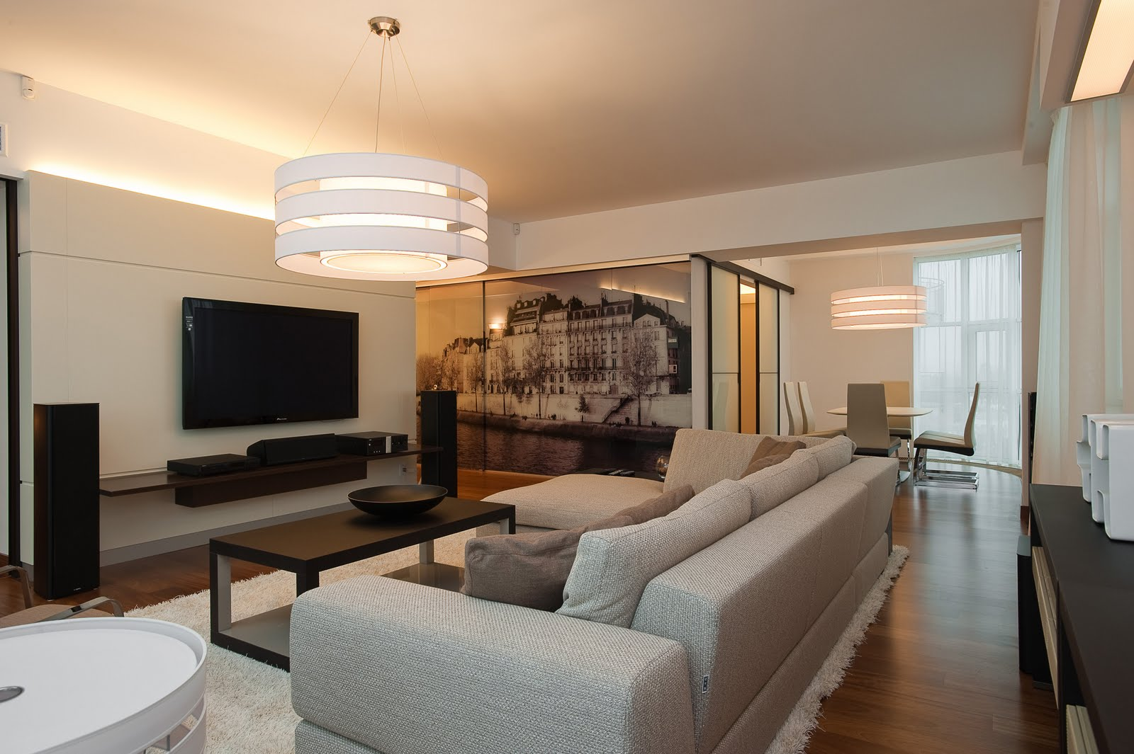 Интерьер гостиной модерн фото