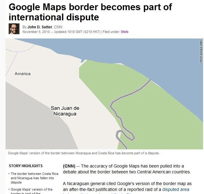 Floatingsheep Did Nicaragua Really Invade Costa Rica