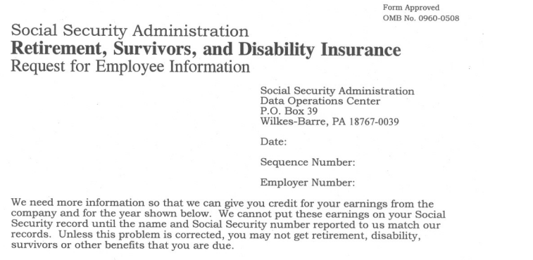 Don's Notepad (Official): SSA L2765 C1 - Social Security fake ...
