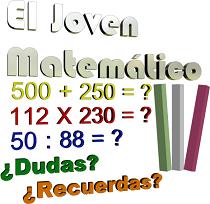 Aprende matemáticas con: