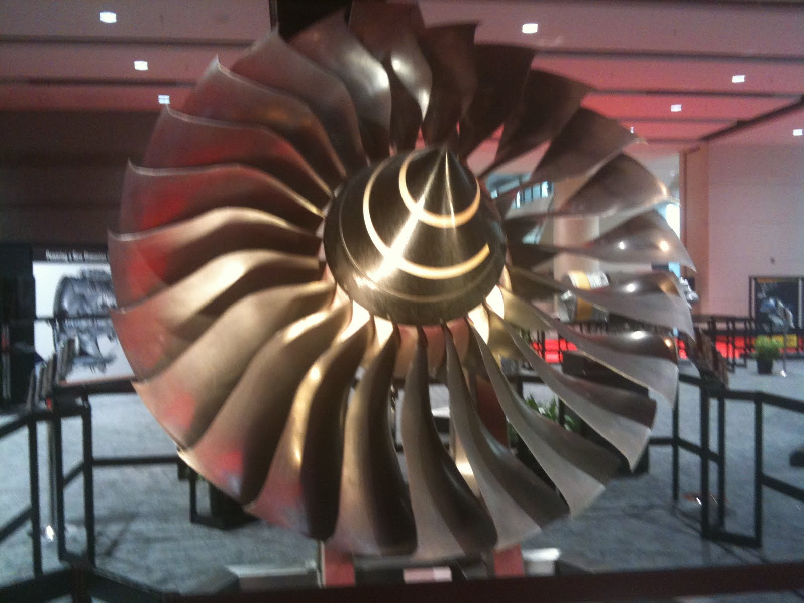 ns and Electrons Rolls Royce Fan System for a Turbine Engine