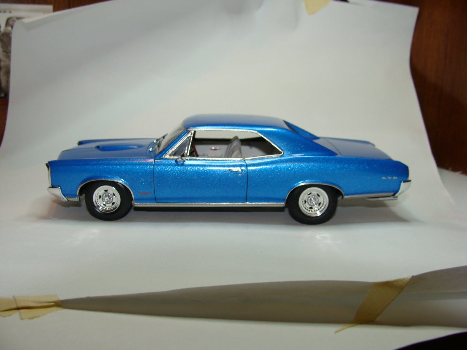 Model Cars: 1966 Pontiac GTO - Street Machine