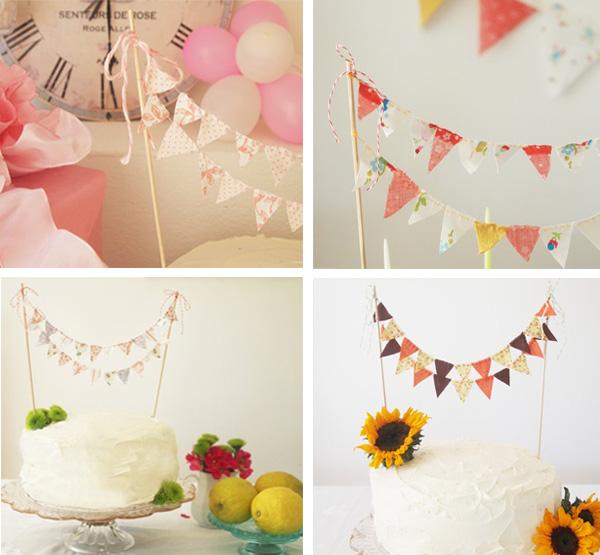 It's Mylife, Mydiary: Birthday Cake Banner Anyone?