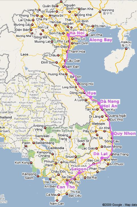 Tre settimane in Vietnam