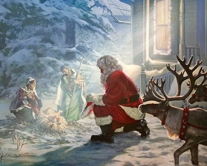 A Jesuit's Jottings: Then the Work of Christmas Begins