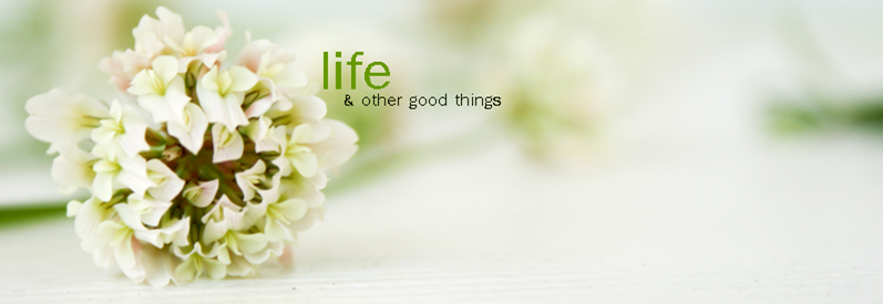 life & other good things