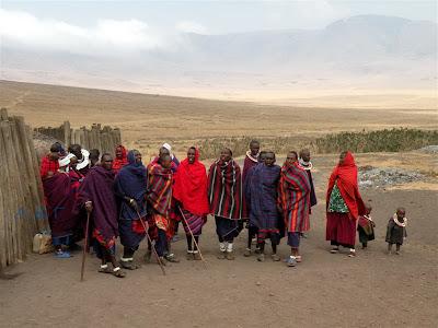Στην αφρική θα πάω με τους μασάι!