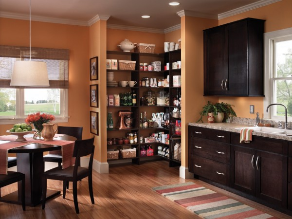 How To Add Functional Space To Your Kitchen Pantry Homeus - How to add a pantry to your kitchen