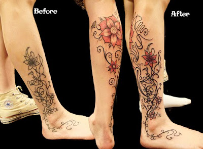 Beauty of Flower Tattoo Designs 2011