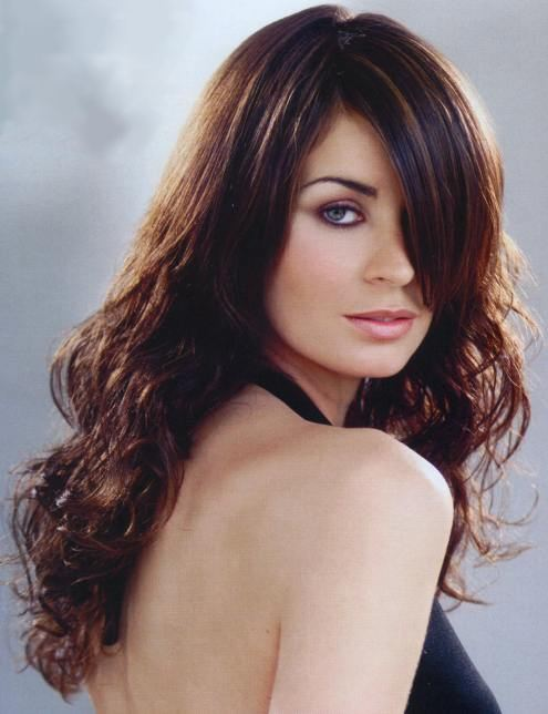 highlights for dark brown hair 2011. highlights for dark brown hair