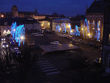la Place du musée à Noël