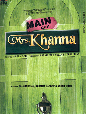 Salman Khan, Kareena Kapoor : Main Aur Mrs. Khanna First Look