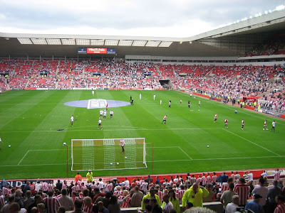 Stadium of Light is a football stadium of all passengers in Sunderland,