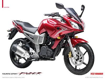 Hot moto speed yamaha fz motorcycles for Yamaha 221 vs 222
