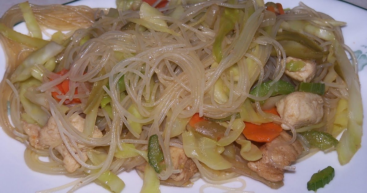 how to cook pancit guisado