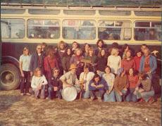 Passengers on Swagman bus to Kathmandu, Sept 76