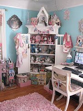 Click to See My Art Studio Featured in Cloth Paper Scissors Studios Spring Magazine 2010