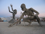 Sculptures on the Playa.
