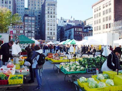 Be right back a farmer 39 s feast for Flowers union square nyc