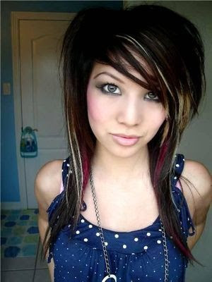 Image of Medium Length Emo Hairstyle