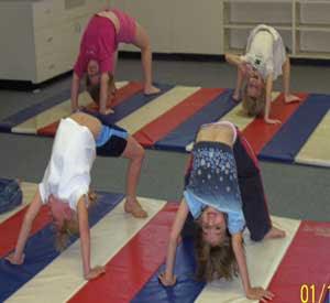 Egg Roll Gymnastics
