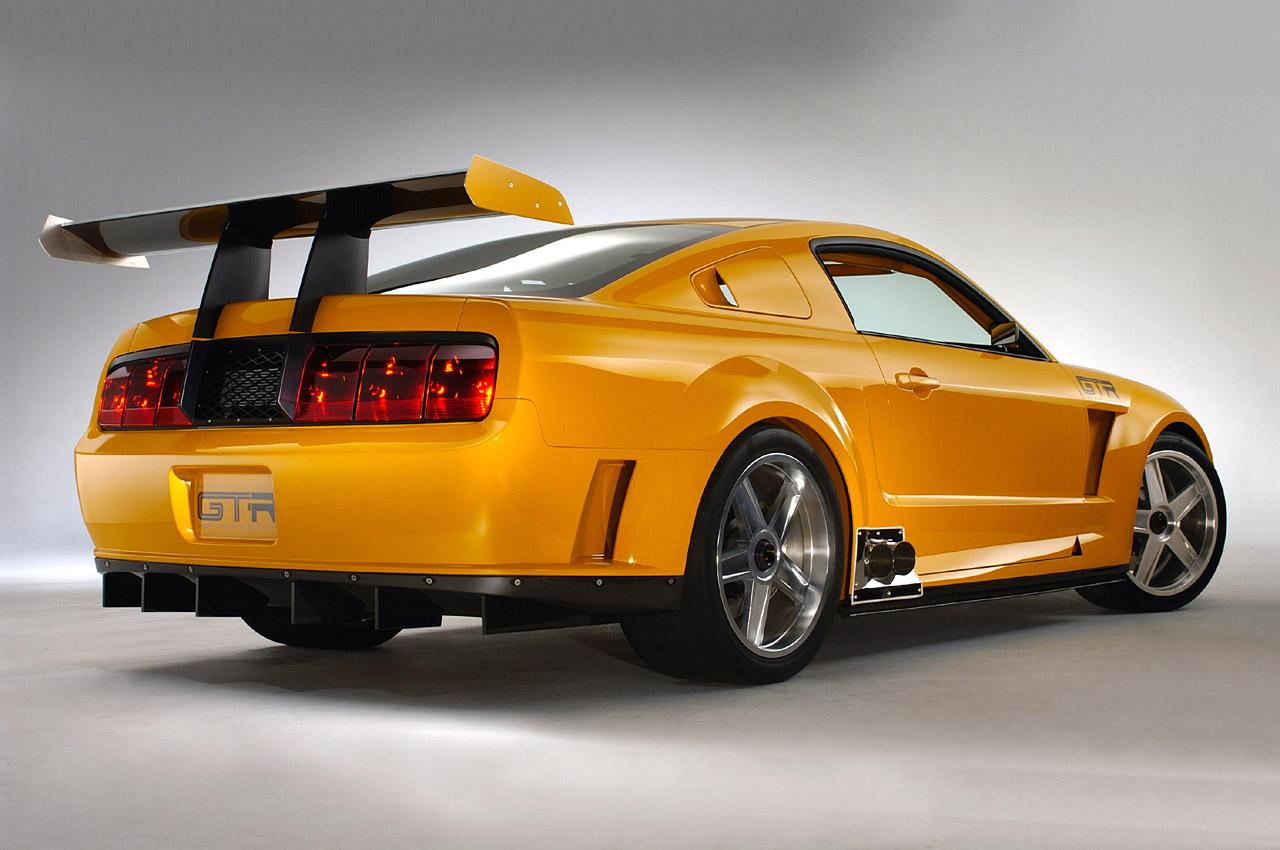 Actualidad Automotriz 2004 Ford Mustang Gt R Concepto