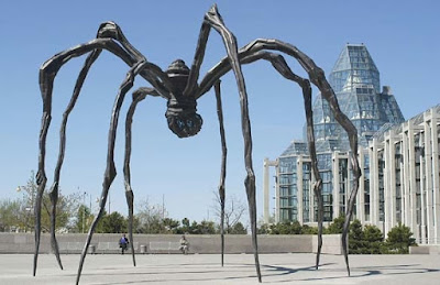 Maman by Louise Bourgeois in the collection of National Gallery of Canada in Ottawa