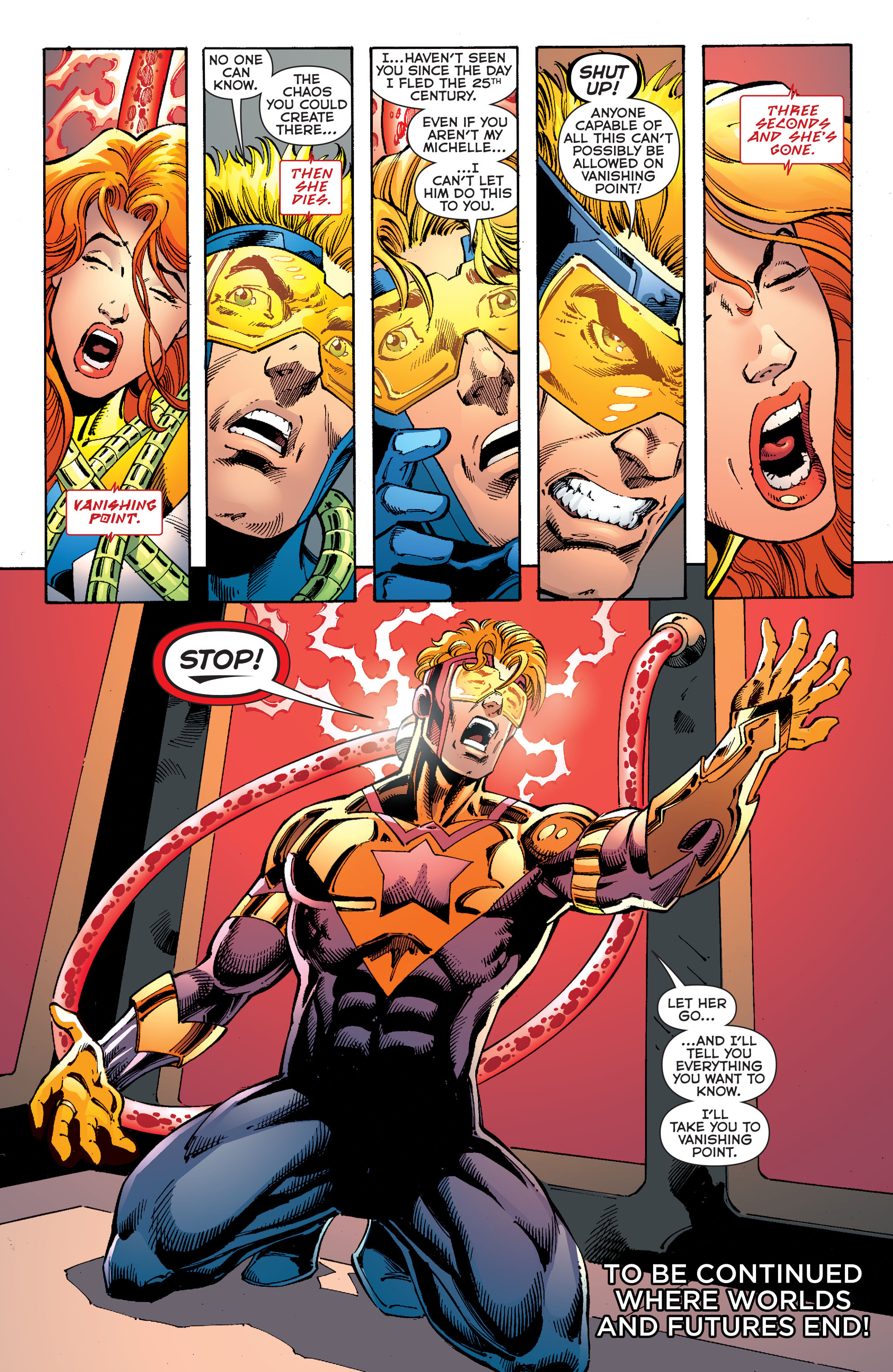 Read online Booster Gold: Futures End comic -  Issue # Full - 21