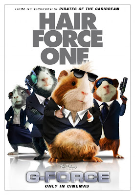 g force, movie, animation