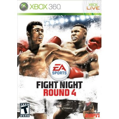 xbox, 360, Fight Night, Round 4
