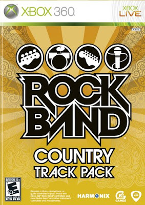xbox 360,the rock band, country,mtv games, electronic, arts, poster