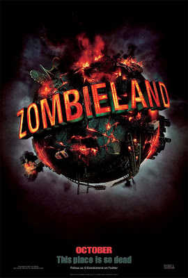 zombieland, movie, poster, film,image, comedy, horror