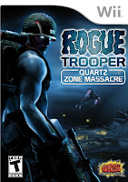 rogue trooper the quartz zone massacre, wii, video, game