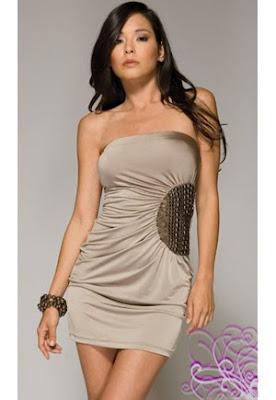 robe bustier élégante