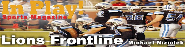 Detroit Lions by In Play! Magazine