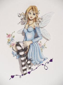 Fairy decopage
