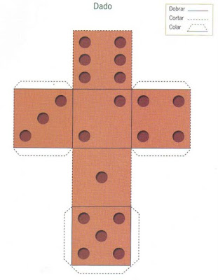 dado Figuras Geométricas para crianças