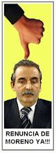 Guillermo Moreno: Fuera del Gobierno ya!