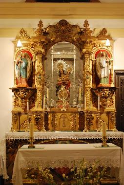 Retablo del altar de la Ermita