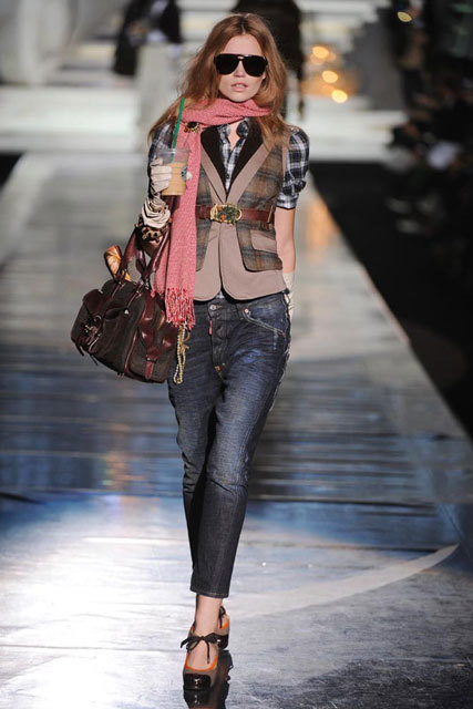 In The Eyes Of Fashion: Dsquared2 Fall/Winter 2009-2010