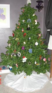 Wedding Gown to Christmas Tree Skirt photo 9