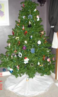 Wedding Gown to Christmas Tree Skirt photo 10